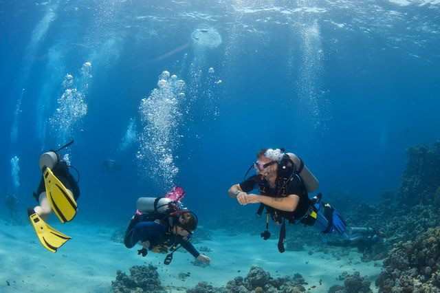 Hurghada Scuba Diving | CTT Egypt