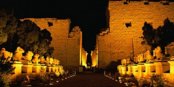 Sound and Light at Karnak temple