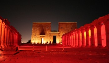 Sound and Light at Philae temple